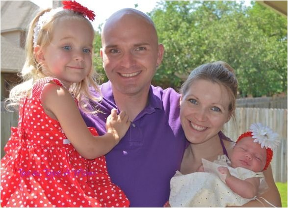 Family Picture Easter 2012