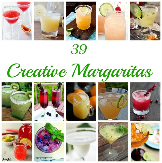 39 Creative Margarita Recipes