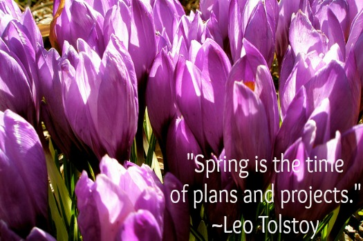 Leo Tolstoy Spring Quote