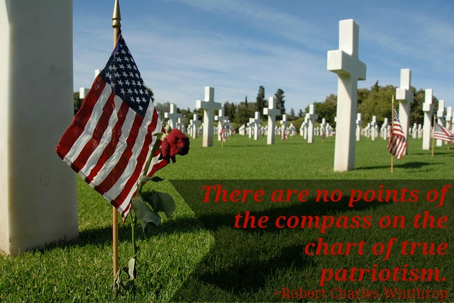 Memorial Day quote from Robert Charles Winthrop