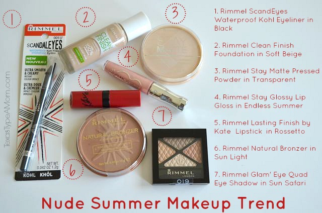 nude summer makeup products