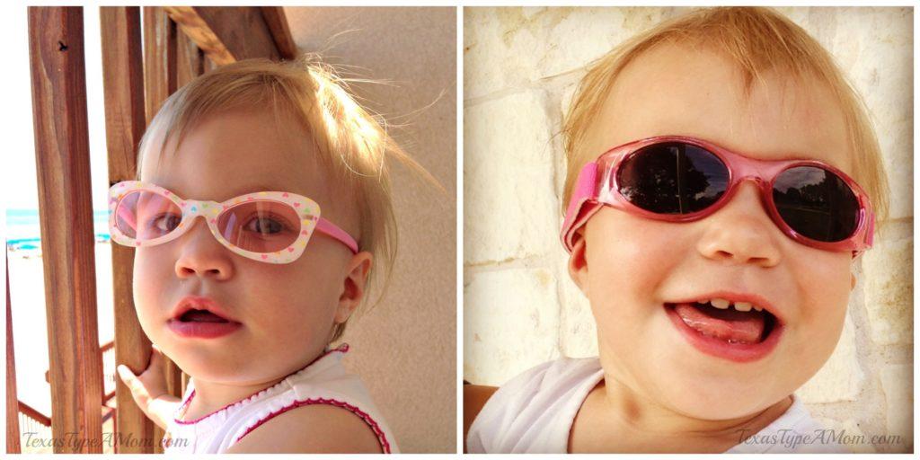 Infant Toddler in Sunglasses
