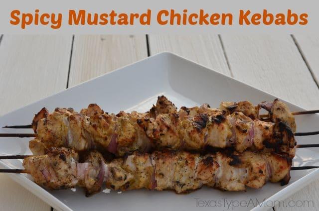 Spicy Mustard Chicken Kebabs 9
