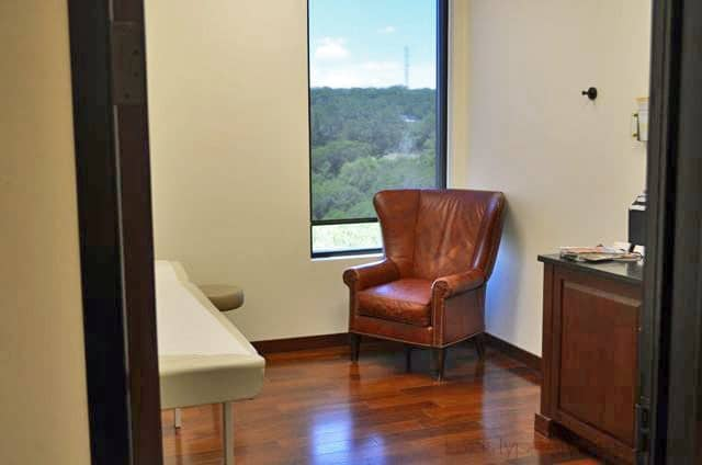 Westlake Dermatology and Cosmetic Surgery Consultation Room for boob job