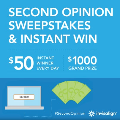 Invisalign Instant Win Second Opinions