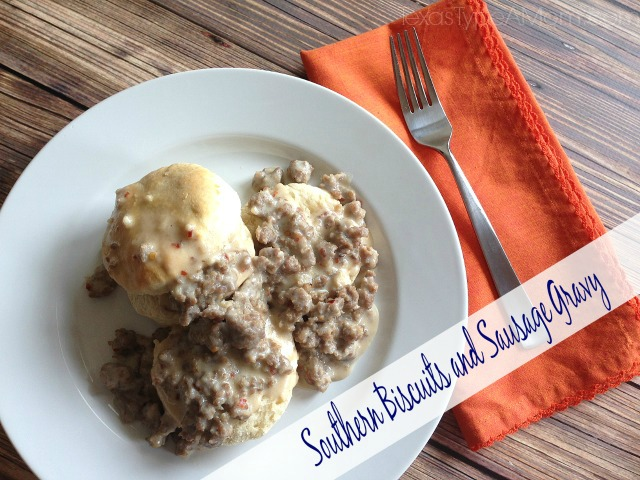 Ad: Southern Biscuits with Sausage Gravy Recipe #shop #TheWrightBreakfast