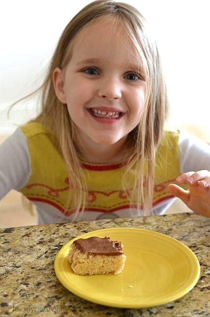 12 - Cakes Eating Milky Way Simply Caramel Rice Krispie Treats