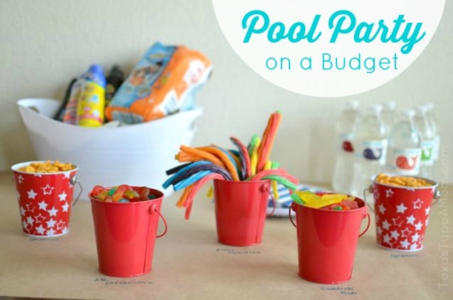 Huggies Pool Party Setup Labeled
