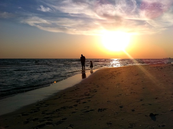 Panama City Beach Sunset: 5 Easy Ways to Save for Your Next Vacation #Compare2Win #shop