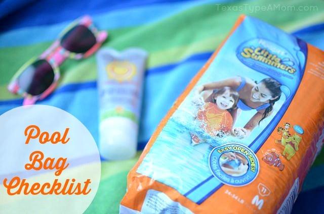 Pool Bag Checklist