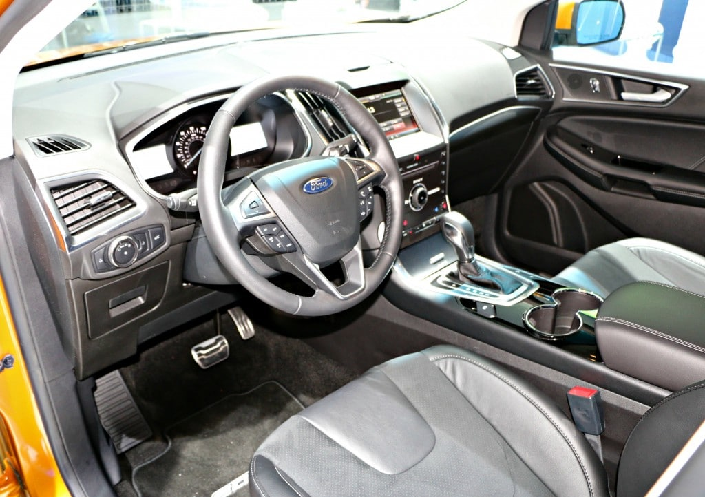 EcoBoost Ford Edge Sport #Ford NAIAS