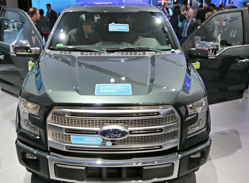 2015 Ford F-150 Platinum Front #FordNAIAS