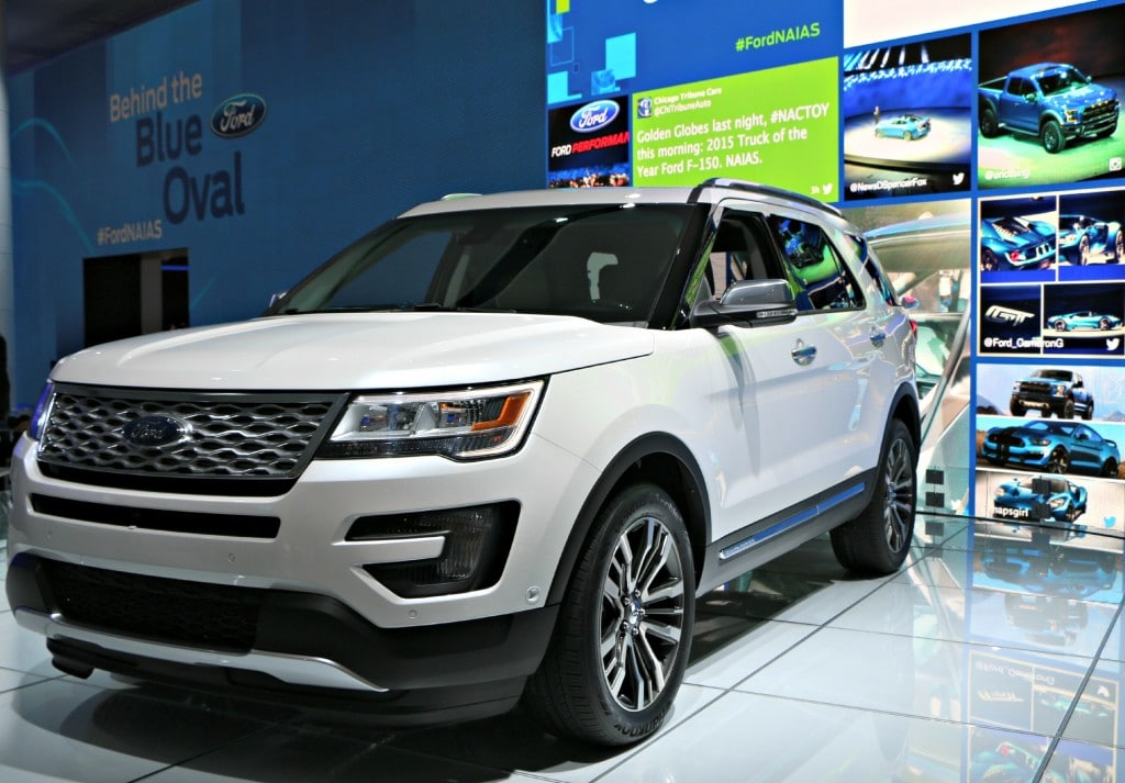 2016 Ford Explorer #Ford NAIAS