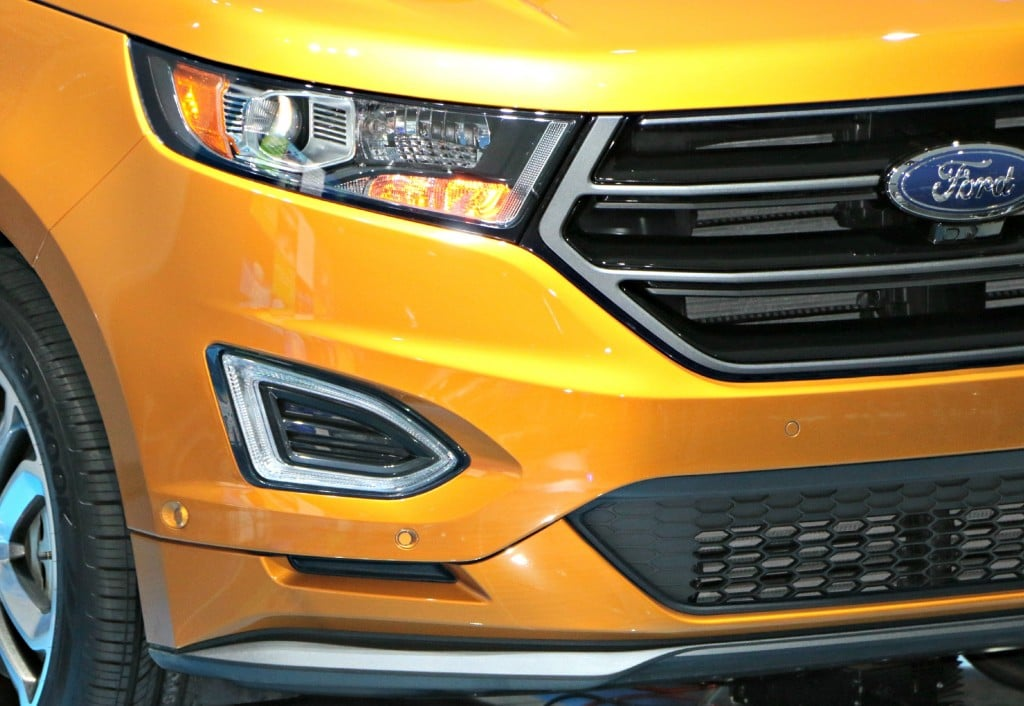 2015 Ford Edge #Ford NAIAS