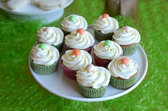 Carrot Cake Cupcakes #MMsCarrotCake #ad