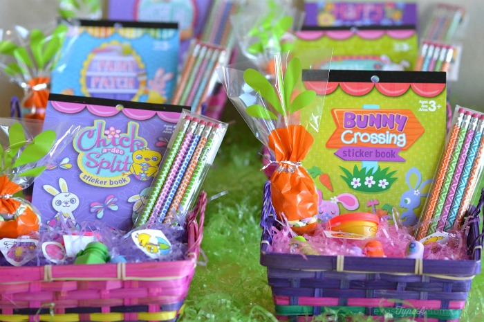 Easter Baskets #MMsCarrotCake #ad
