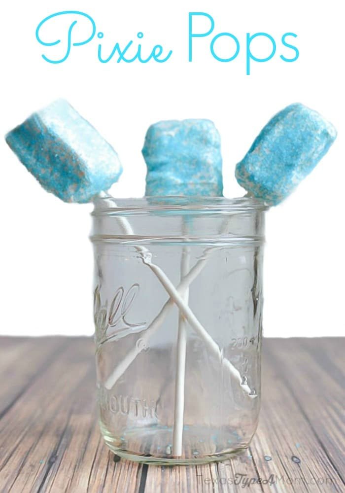 Pixie Pops Recipe {Inspired by Tinker Bell & the Legend of the NeverBeast} #TinkandNeverbeast #ad