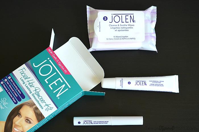 Jolen Hair Removal Kit