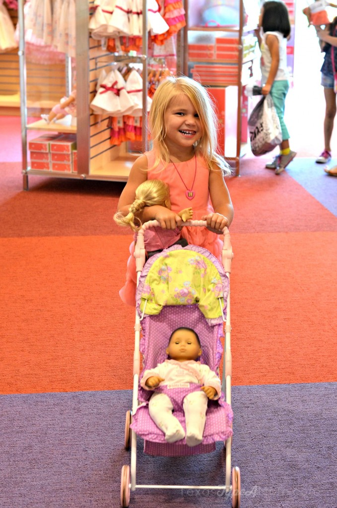 Cakes with Stroller American Girl Store