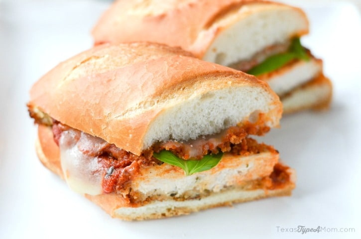 Chicken Parmesan Sandwich 3