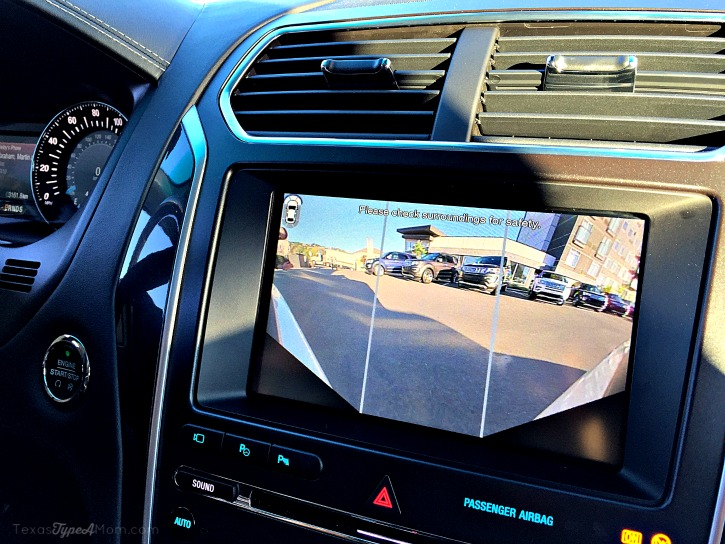 2016 Ford Explorer Platinum 360 Degree Front Camera