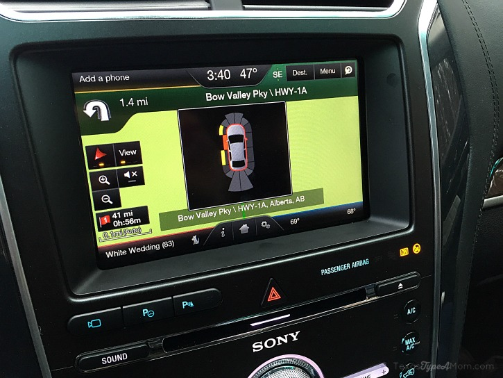 2016 Ford Explorer Platinum Traction Control System