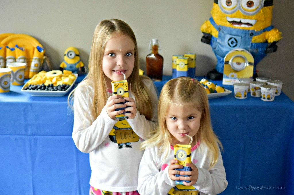 Girls Minions Birthday Party Breakfast