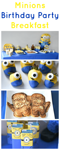 Minions Birthday Party Breakfast Ideas