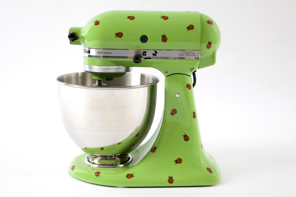 Ladybugs KitchenAid Mixer