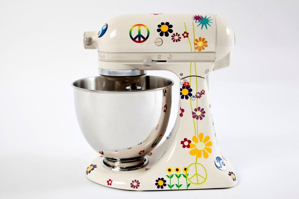 good Designer Kitchen Aid Mixers #7: Peace and Love KitchenAid mixer