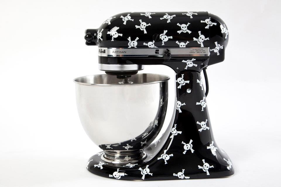 nice Designer Kitchen Aid Mixers #4: Rock and Roll KitchenAid mixer