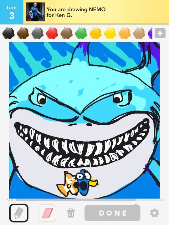 draw something pictures of movie characters