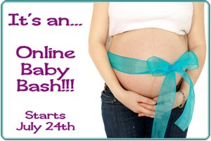 Online Baby Shower Giveaway Event