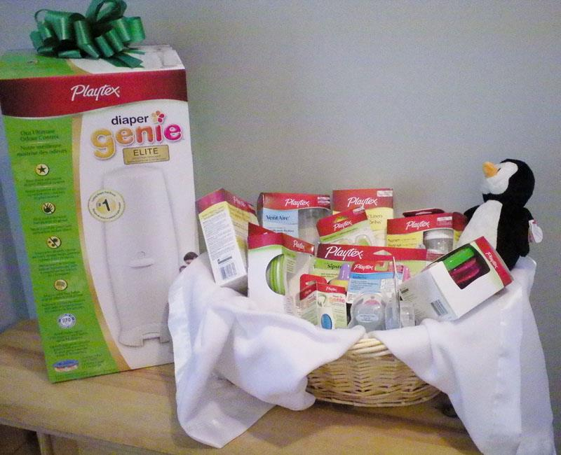 playtex, diaper genie, and babies r us online baby shower giveaway, Baby shower invitation