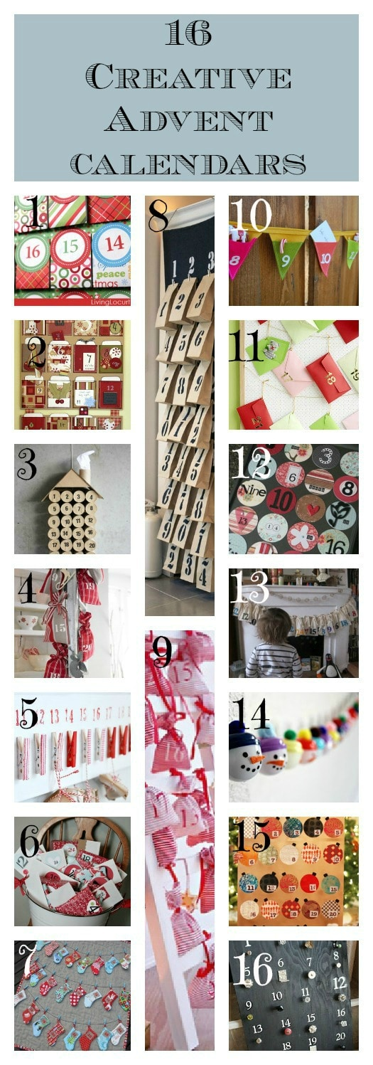 Advent Calendar Ideas Wife : Creative advent calendars or alternatives