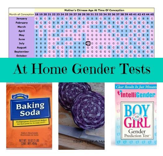At Home Gender Predictor Tests
