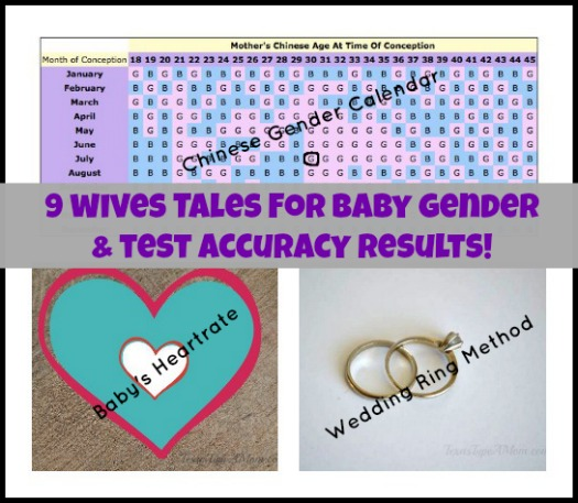 The wait to find out your baby's gender is brutal. I've been there. But that didn't stop me from trying out these 9 Wives Tales for Baby Gender Prediction! Check out the tests I took and the final accuracy results to see if they really work!