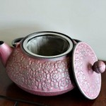 teavana review cherry blossoms cast iron japanese tea pot