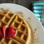 This delicious Churro Waffles recipe is such an easy breakfast to make, but warning...these are so addictive!