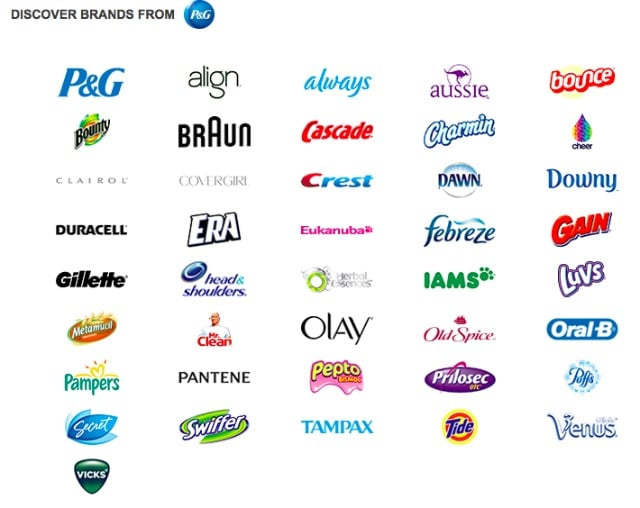 Pg brand coupons