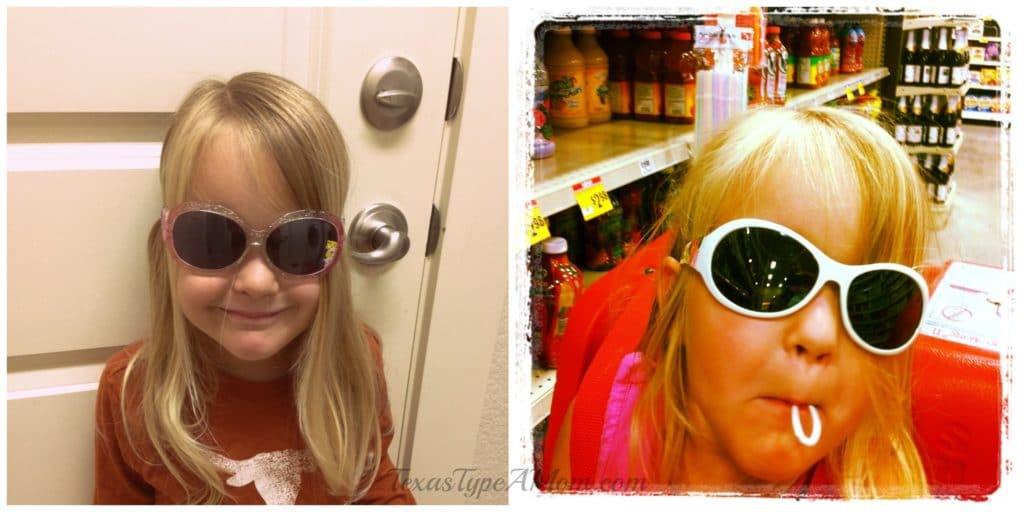 Preschooler in Sunglasses