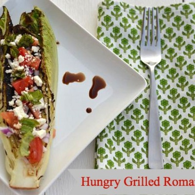 Hungry Grilled Romaine Salad Recipe