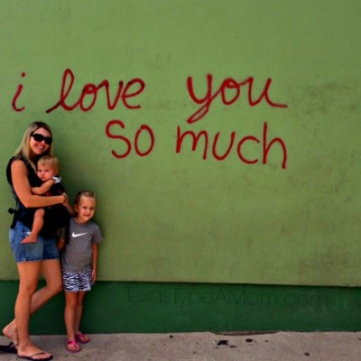 Austin: I Love You So Much Wall