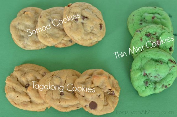 Recipes using Girl Scout cookie flavored Nestle Crunch bars