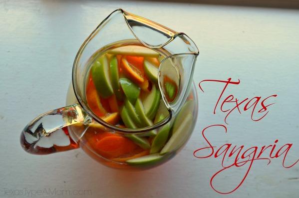 Texas Sangria Recipe