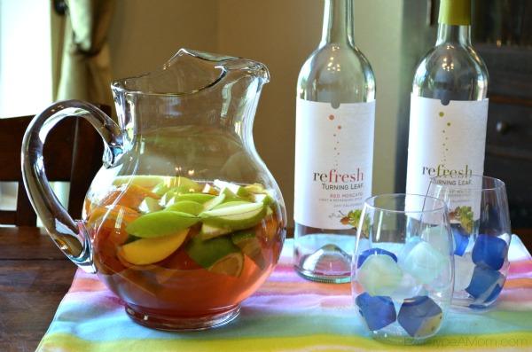 Turning Leaf Refresh Texas Sangria Recipe