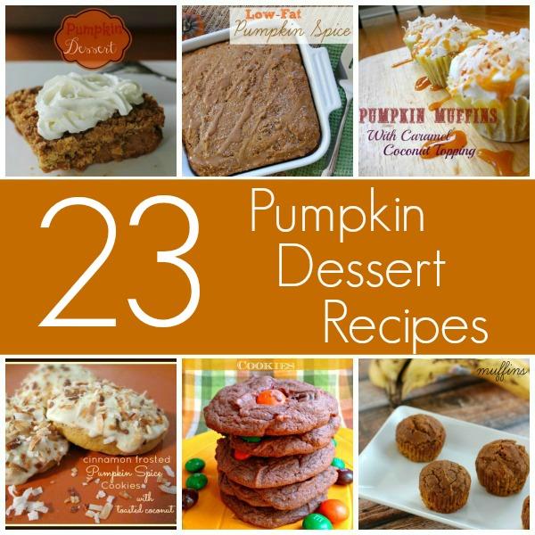 23 Pumpkin Dessert Recipes For Fall