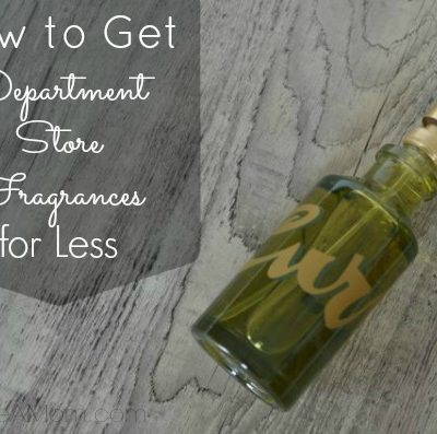 How to Get Department Store Fragrances for Less