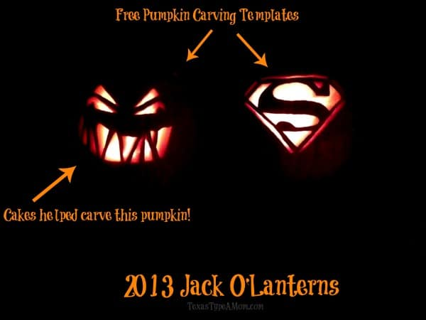 2013 Jack O'Lanterns