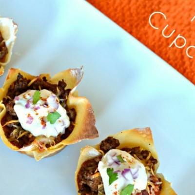 Double Decker Taco Cupcakes Recipe
